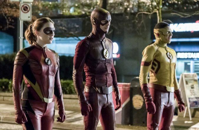 The Flash temporada 3 the cw