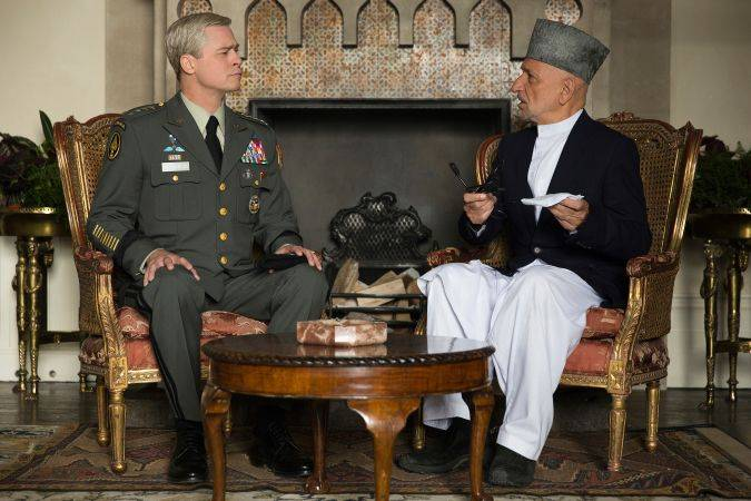 war machinne netflix brad pitt Sir Ben Kingsley