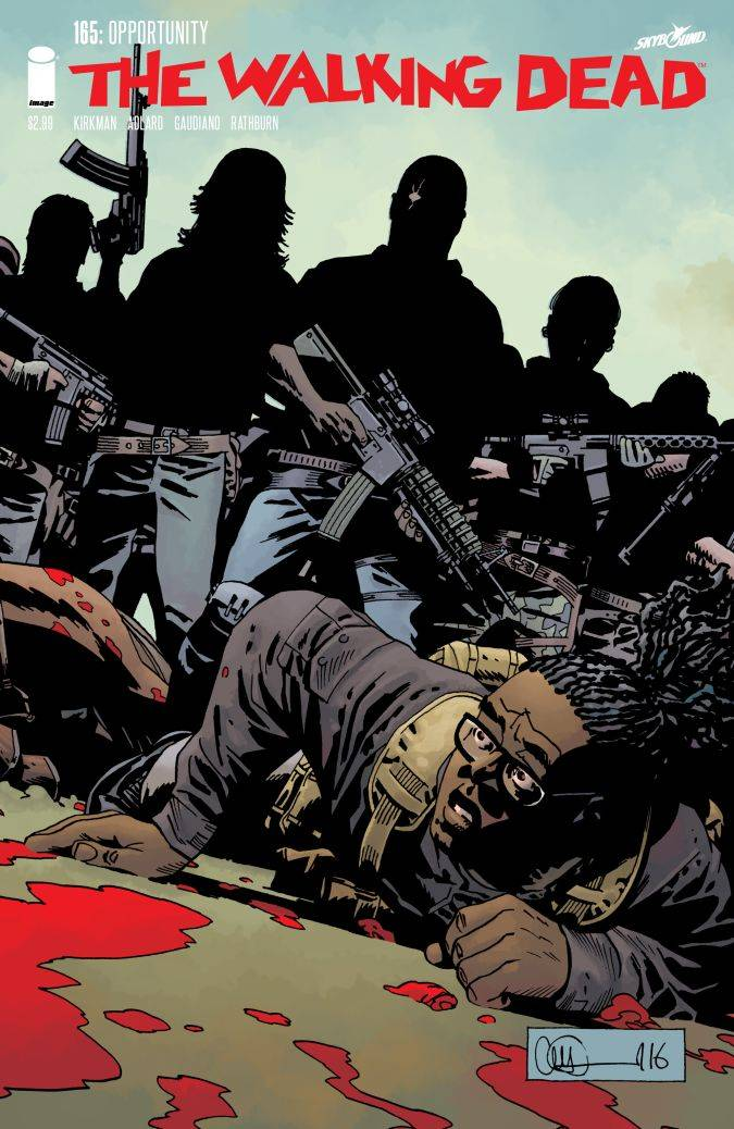 the walking dead 165 portada comic