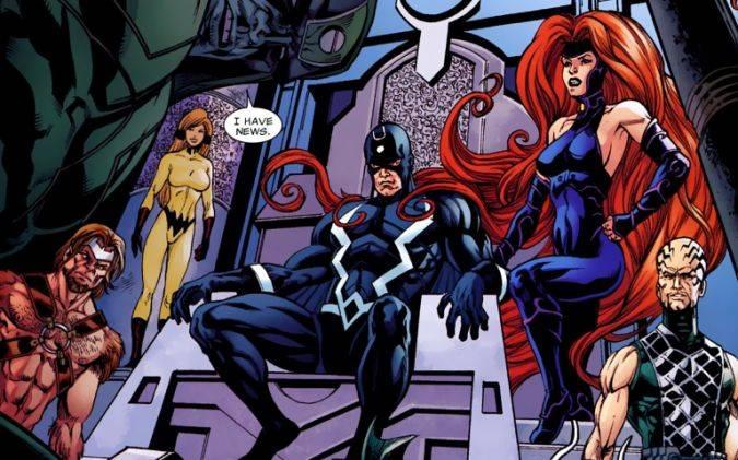 inhumans marvel comics familia real
