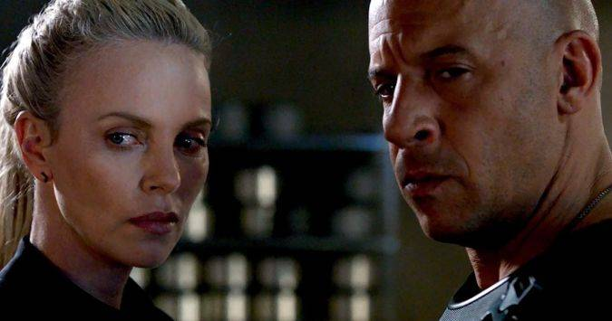 the fate of the furious cipher dom toretto charlize theron vin diesel