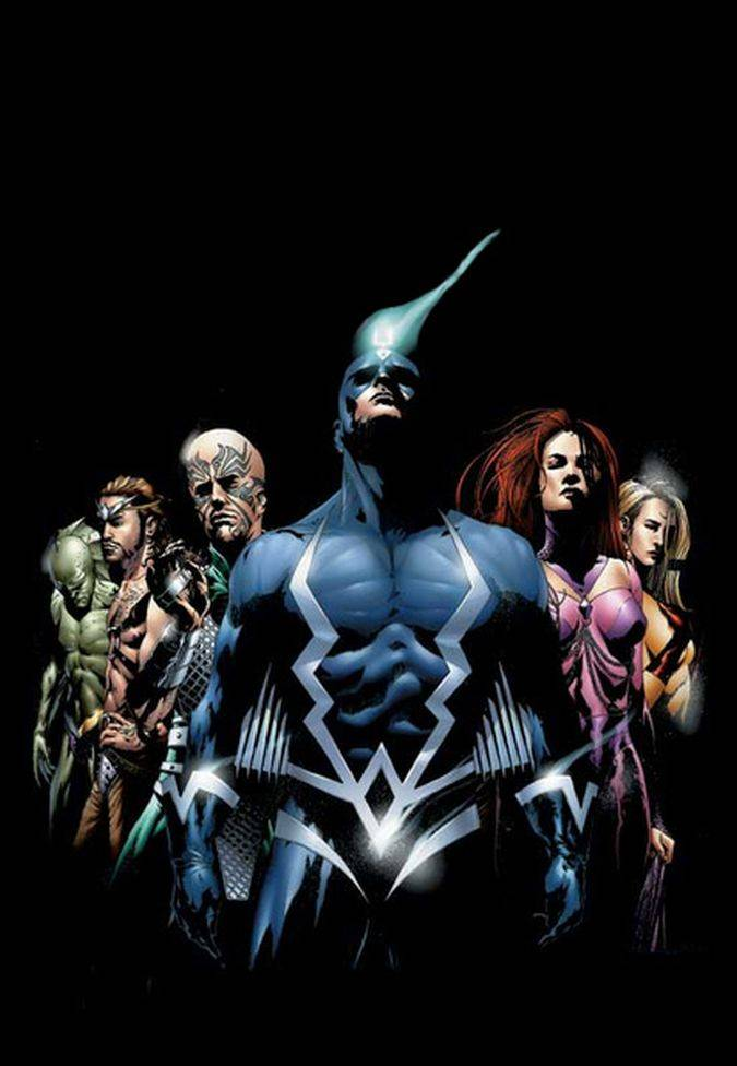 inhumans black bolt