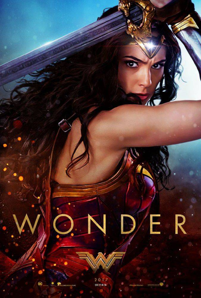 wonder woman poster pelicula