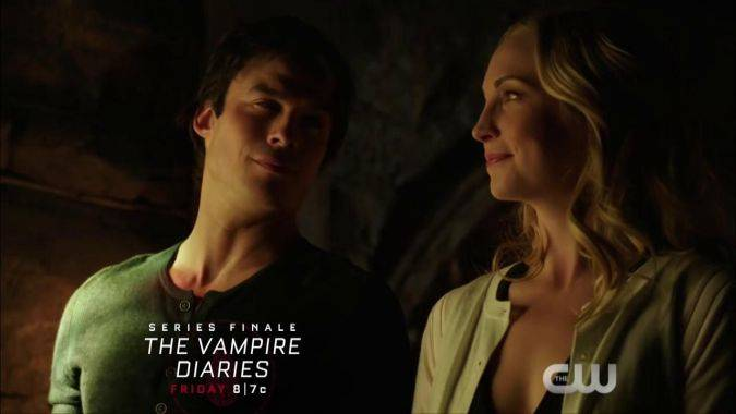 the vampire diaries 9x16 caroline damon salvatore