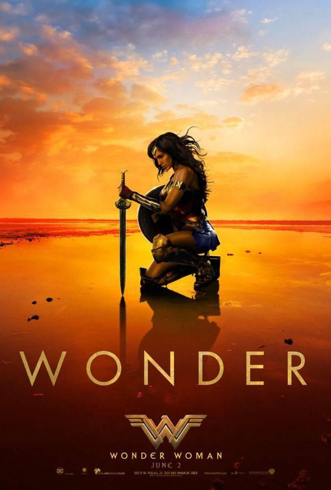 wonder woman poster nuevo