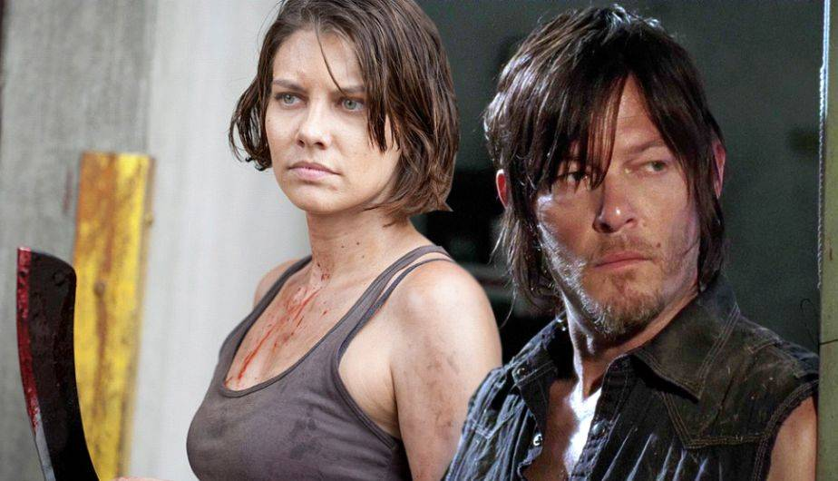 the walking dead daryl maggie