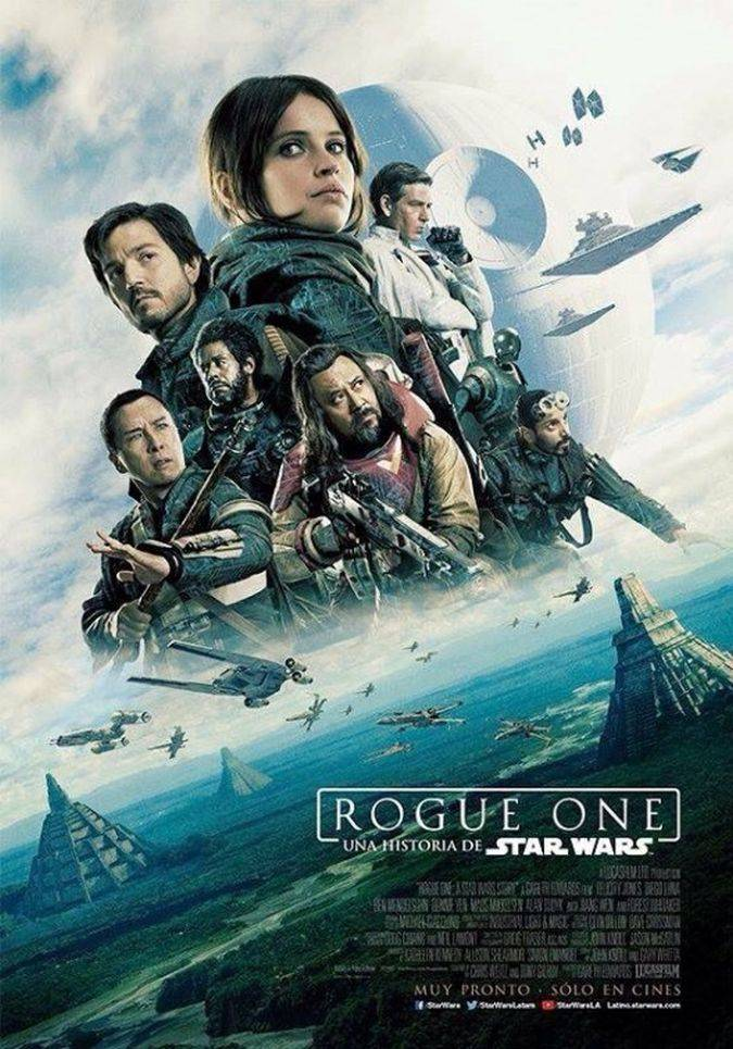 rogue a star wars story poster