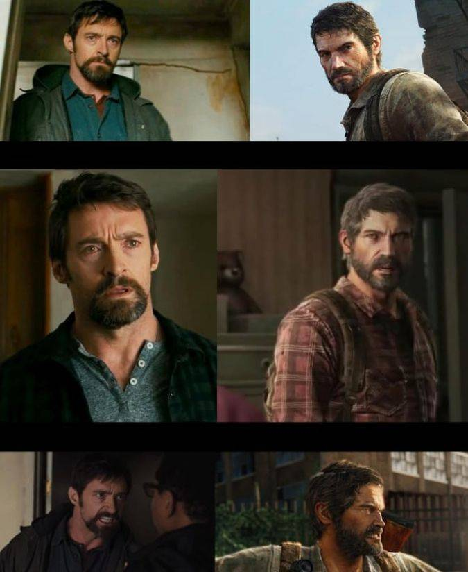 logan hugh jackman joel the last of us