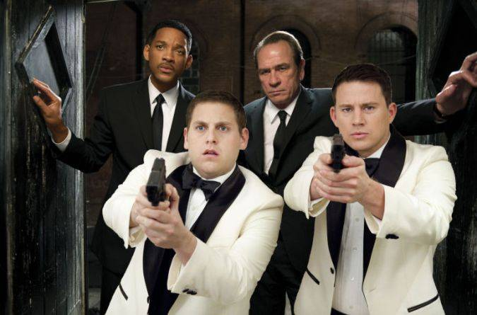 Men in Black 21 Jump Street crossover
