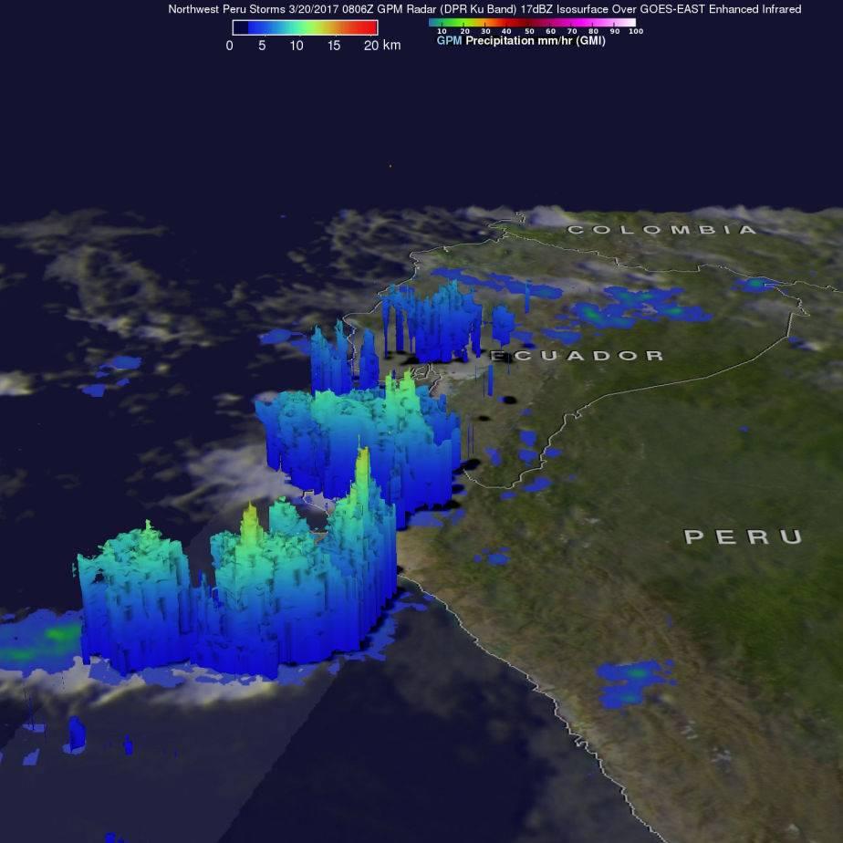 nasa,satelites,peru,inundaciones