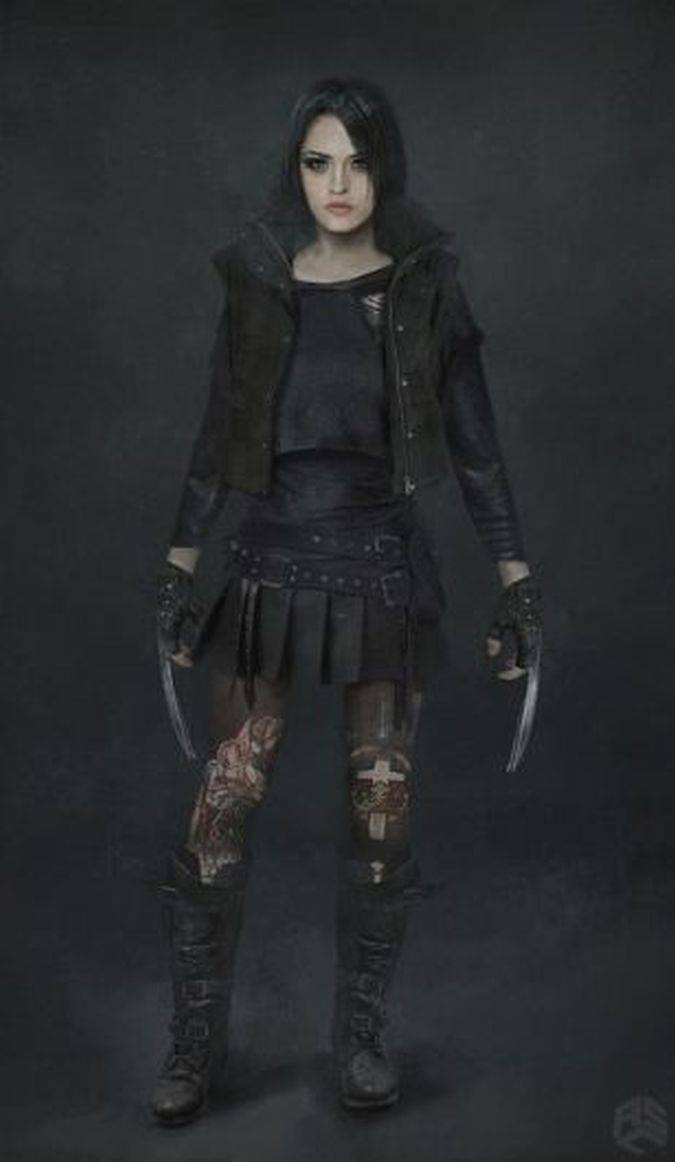 logan concept art laura x-23