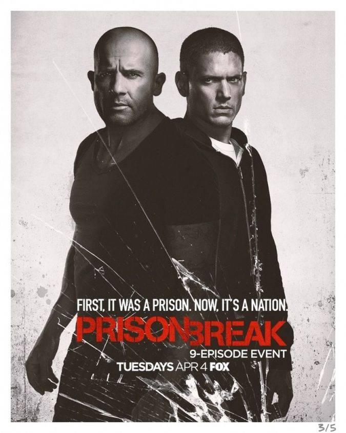 prison break temporada 5 revival poster michael lincoln