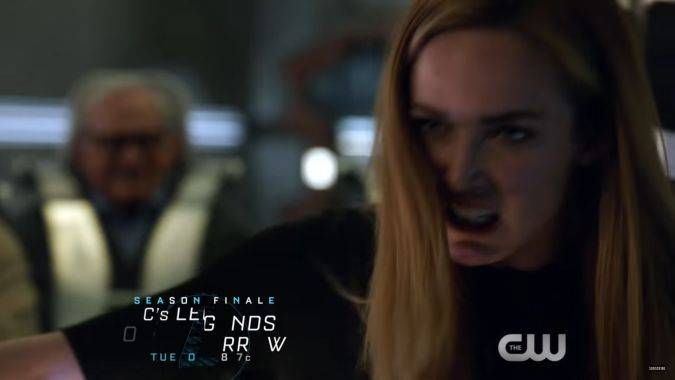 legends of tomorrow 2x17 sara final temporada 2