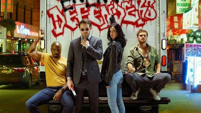 the defenders daredevil jessica jones iron fist luke cage