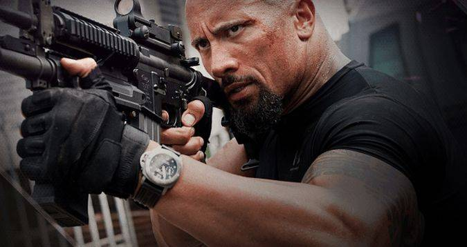 the rock johnson fast furious 8