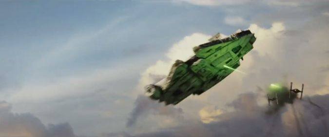 star wars the last jedi millenium falcon
