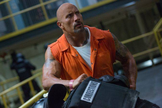 the fate of the furious dwayne the rock johnson hobbs