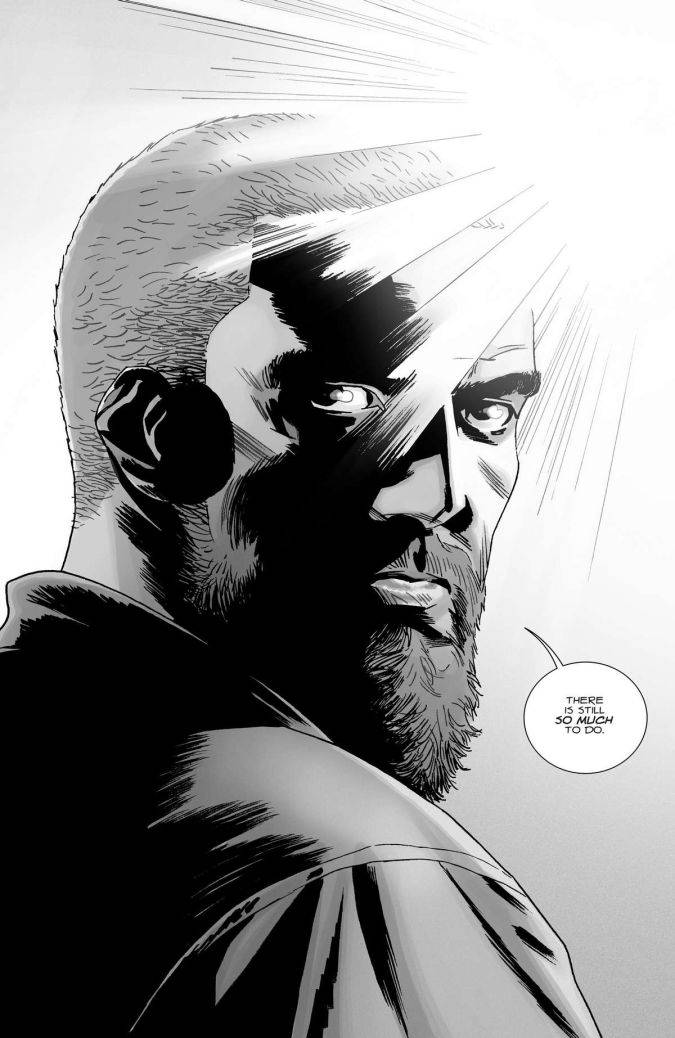 the walking dead 167 rick grimes comic