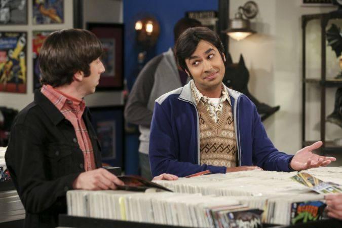 the big bang theory raj howard