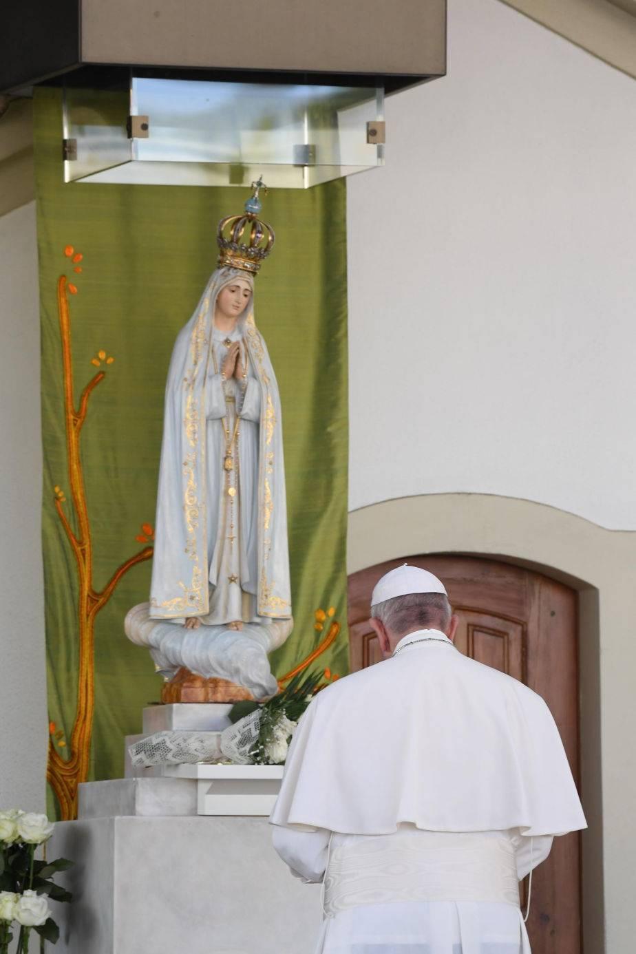 papa francisco,virgen del fatima