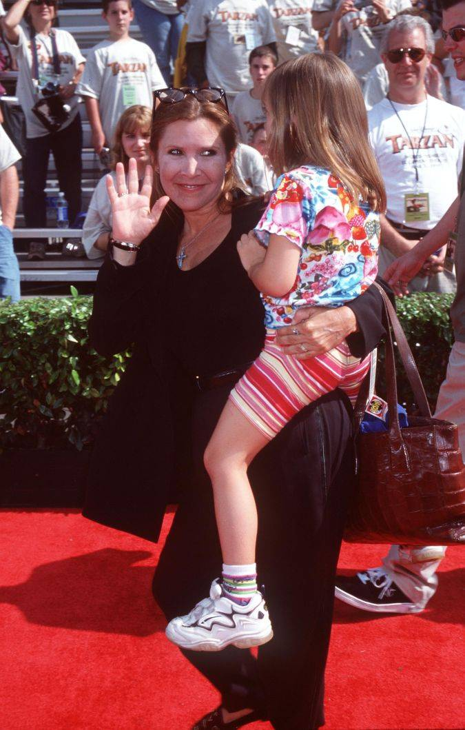 carrie fisher billie lourd star wars