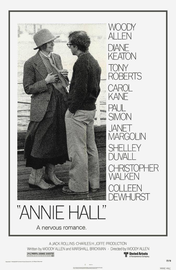 annie hall poster woody allen