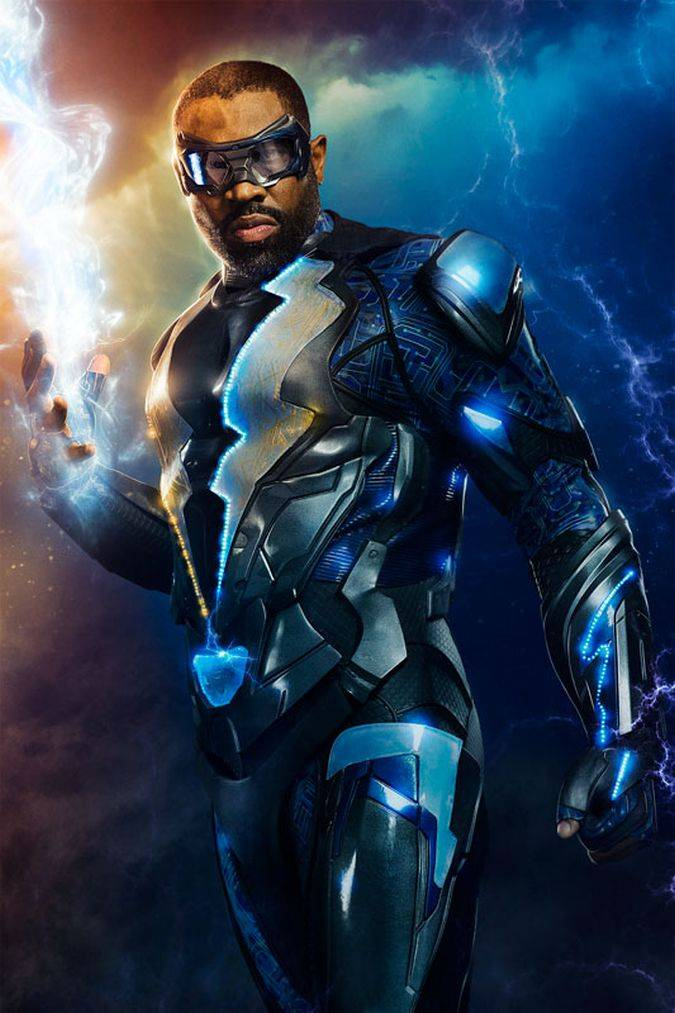 black lightning poster serie the cw