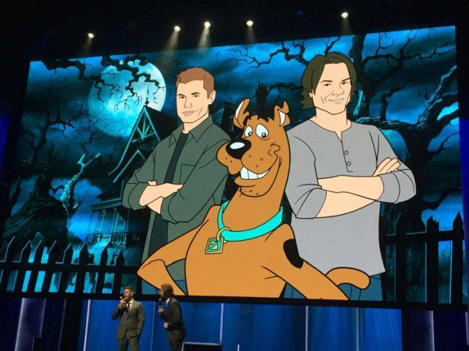 Supernatural the cw scooby doo