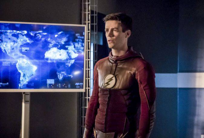 The flash 3x23 barry allen the thinker