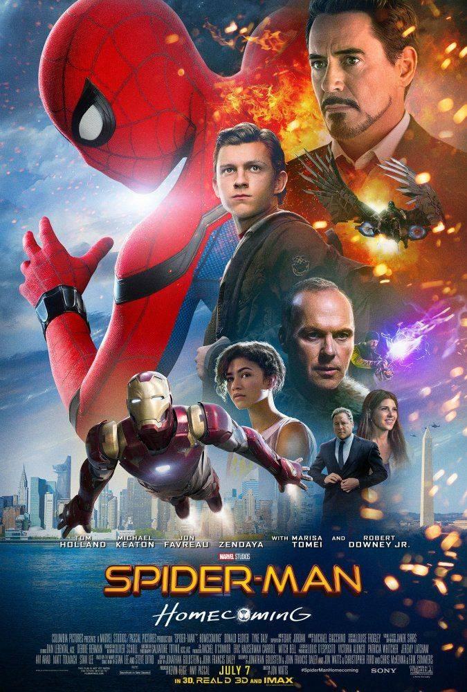 spider-man homecoming hombre araña poster