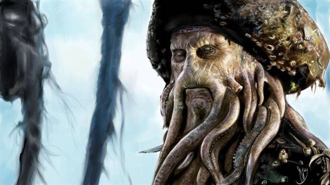 piratas del caribe 5 davy jones escena post-creditos