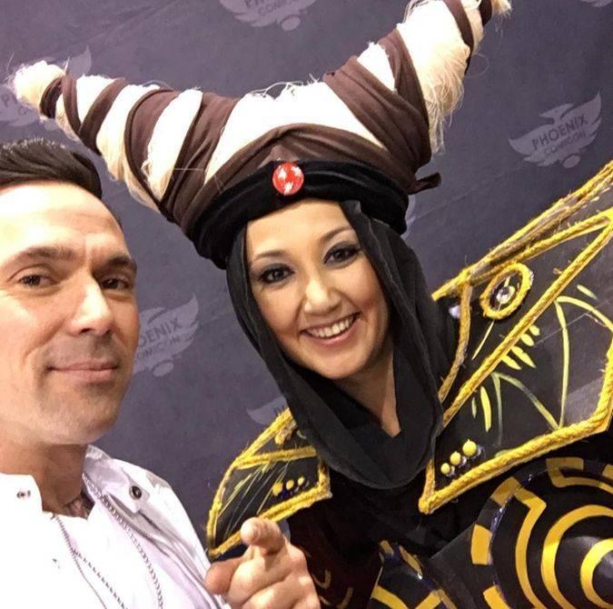 power ranger jason david frank phoenix comic-con 2017
