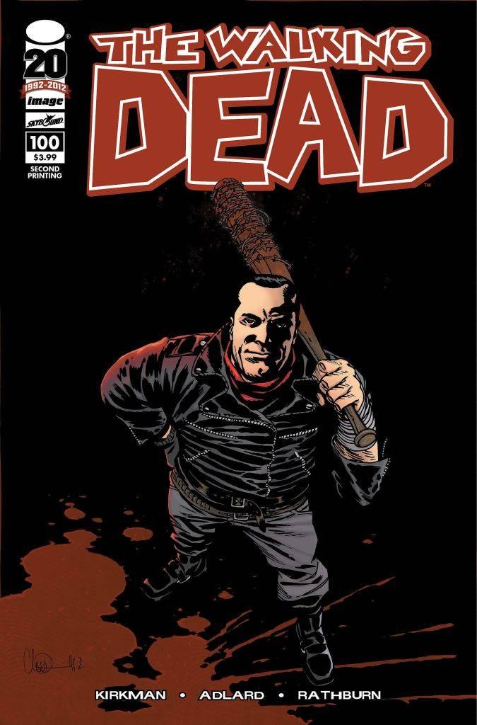 the walking dead 100 comic negan