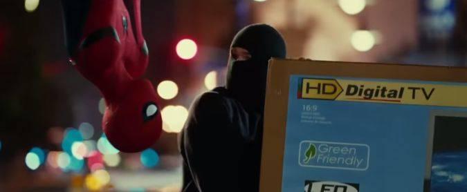spider-man homecoming spot tv peter parker