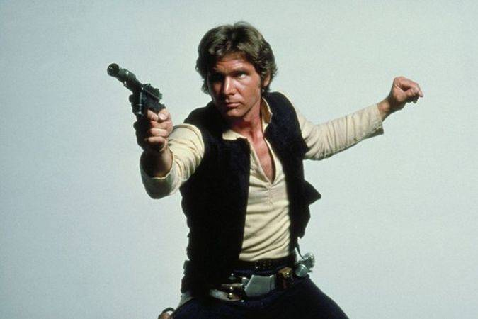 han solo star wars trilogia original harrison ford