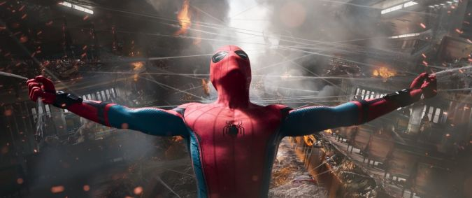 spider-man homecoming peter parker fuerza
