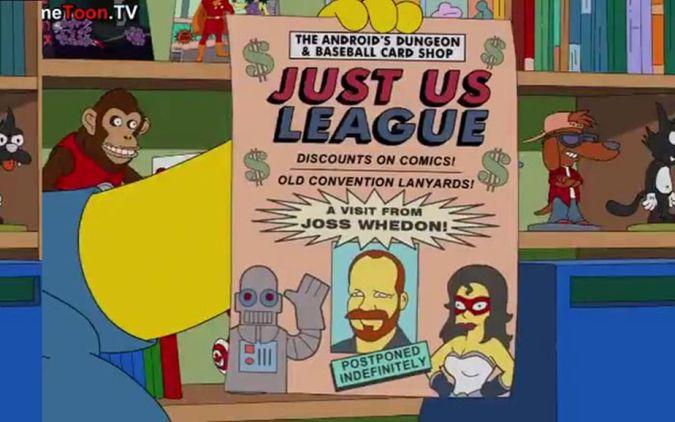 los simpson justice league