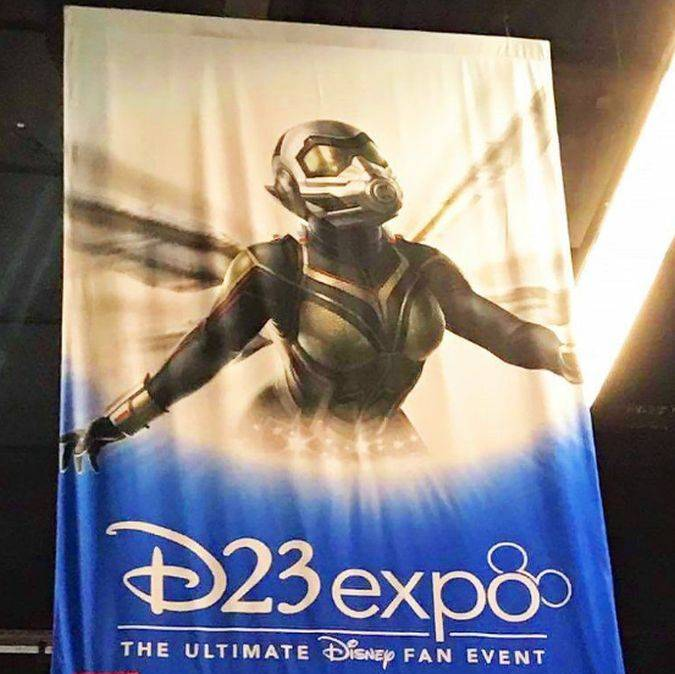 ant-man and the wasp banner d23 expo