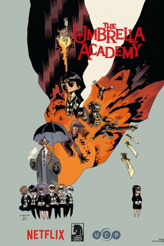 the umbrella academy poster netflix