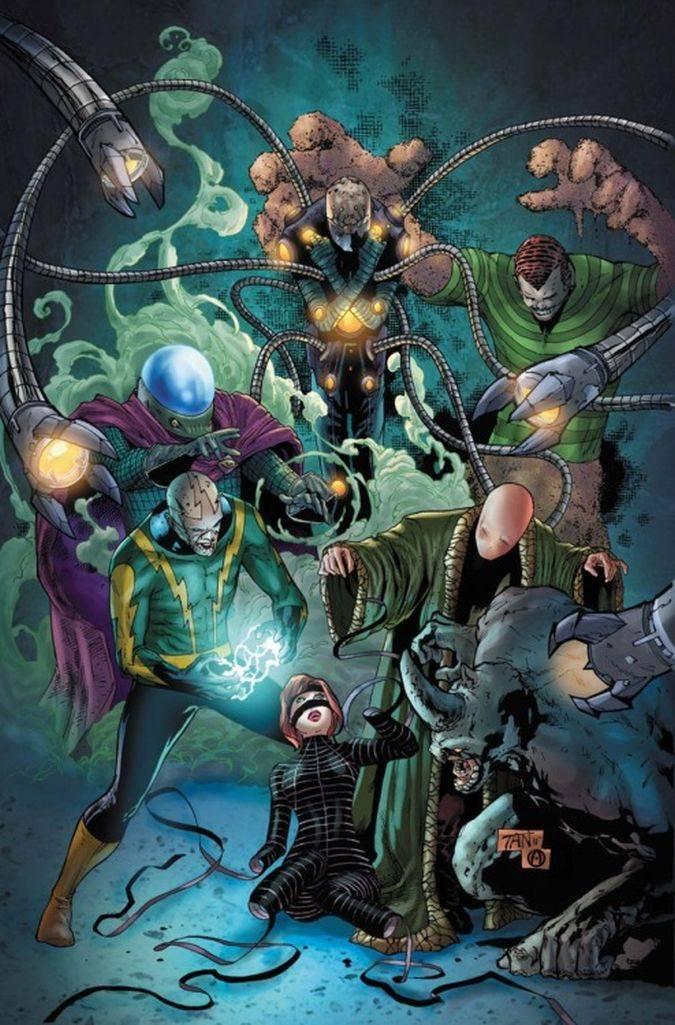 spider-man homecoming seis siniestros