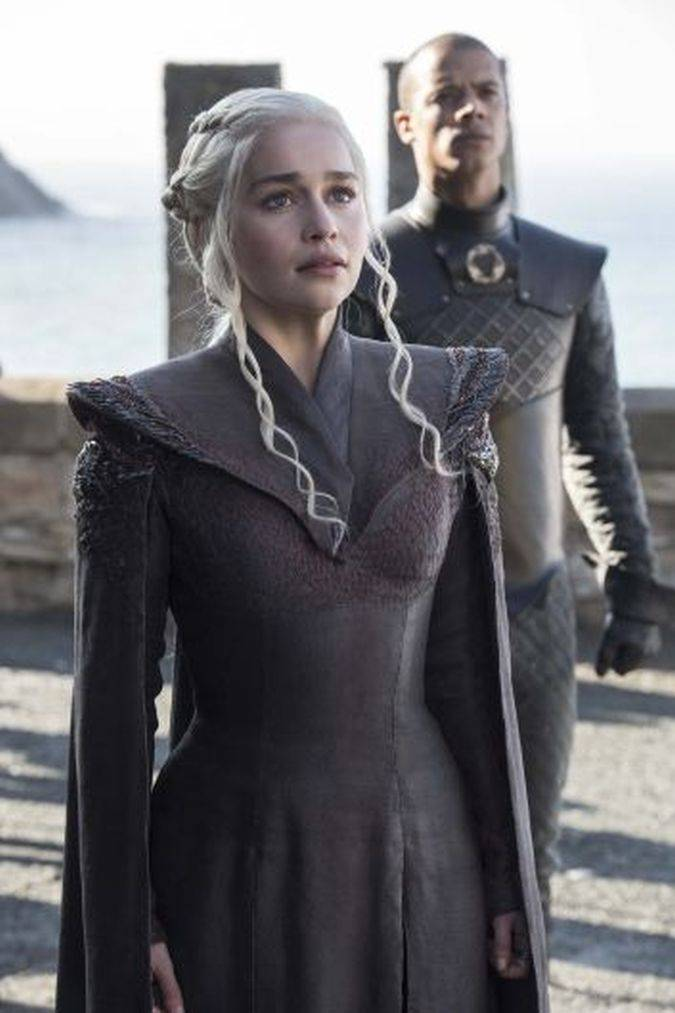 game of thrones 7x01 daenerys targaryen dragonstone