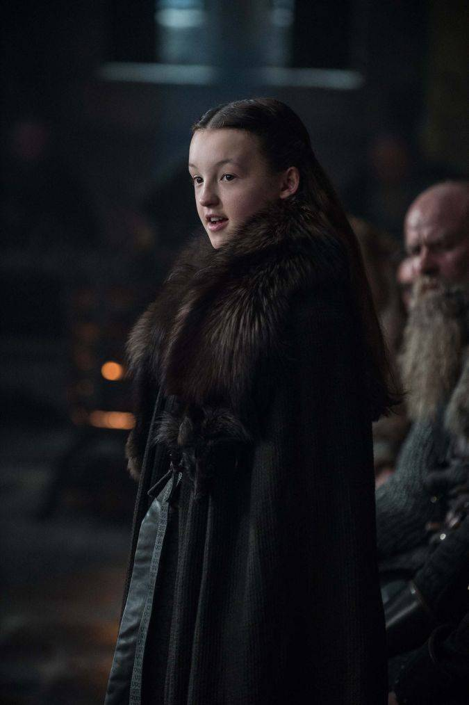 game of thrones 7x01 lyanna mormont