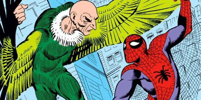 spider-man homecoming vulture comic