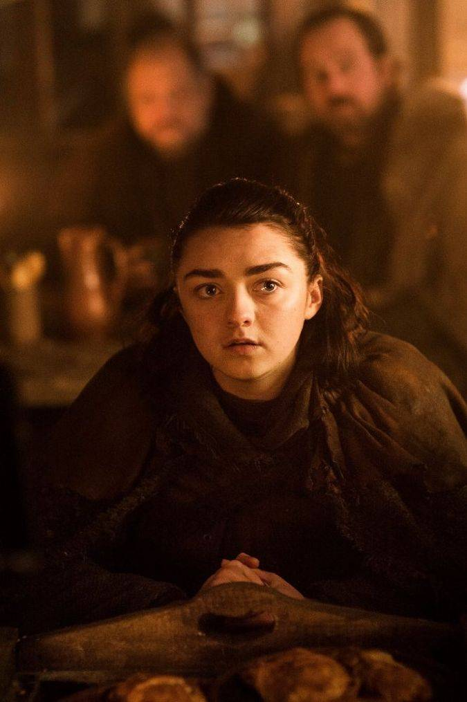 game of thrones 7x01 arya stark