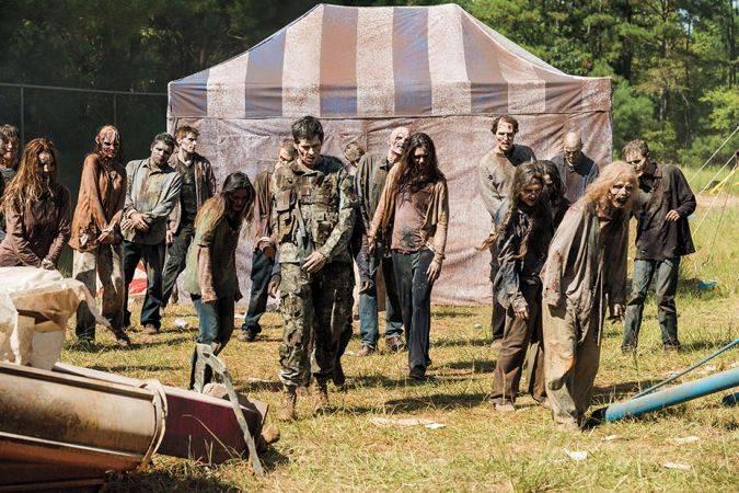 the walking dead john bernecker zombi