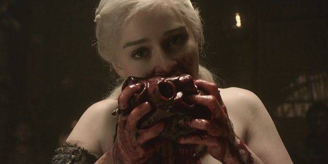 game of thrones daenerys targaryen corazon semental