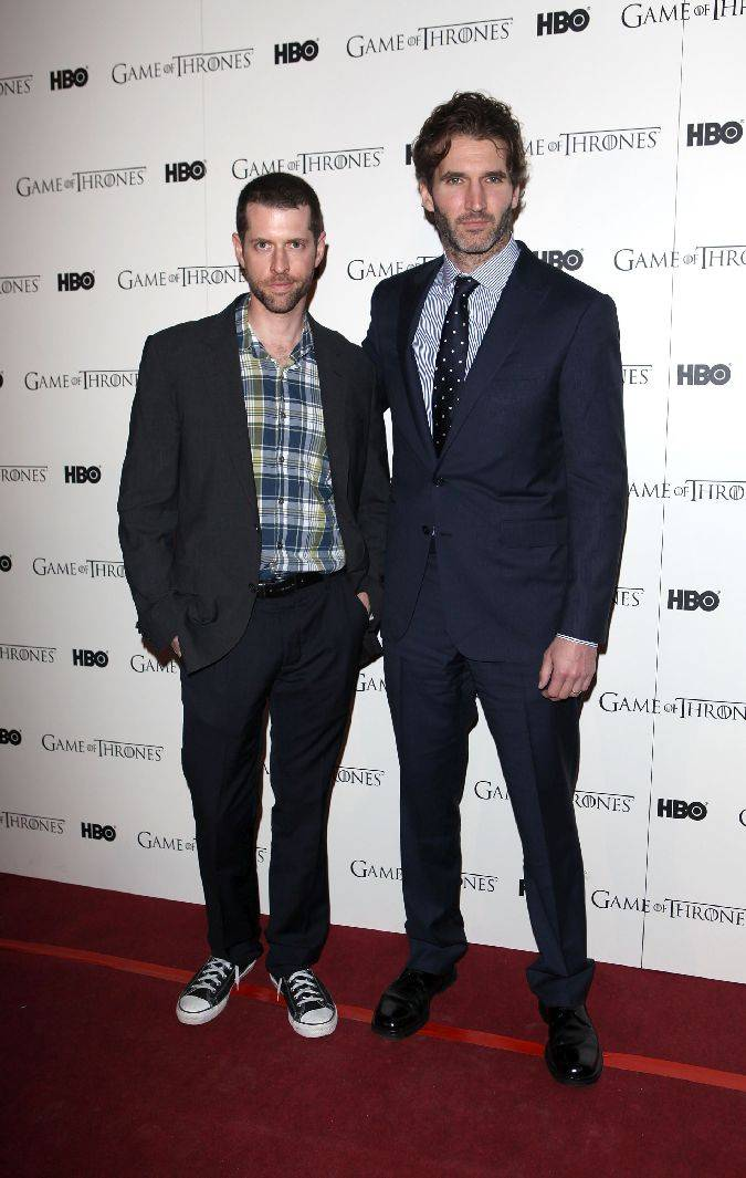 game of thrones dan weiss david benioff