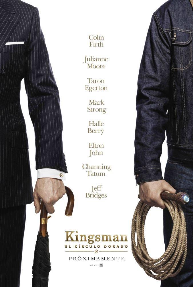 kingsman the golden circlo poster