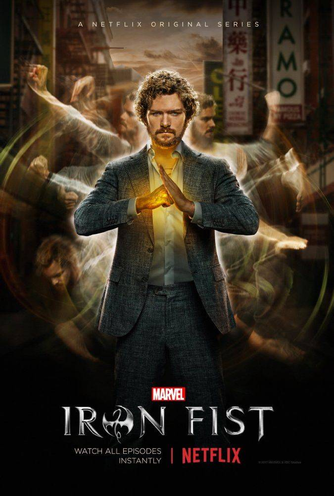 iron fist poster danny rand finn jones netflix marvel