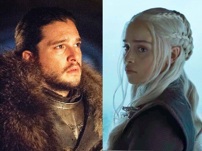 game of thrones jon snow daenerys targaryen
